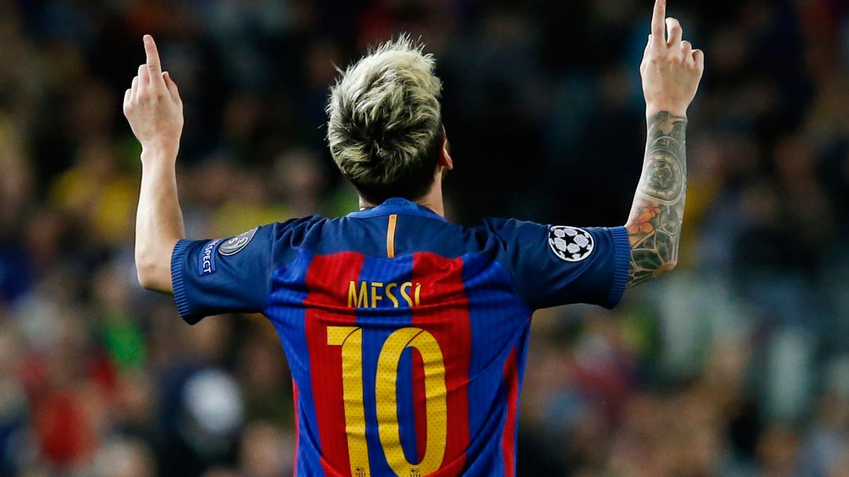 La afici�n internacional apuesta por Messi para el Bal�n de Oro
