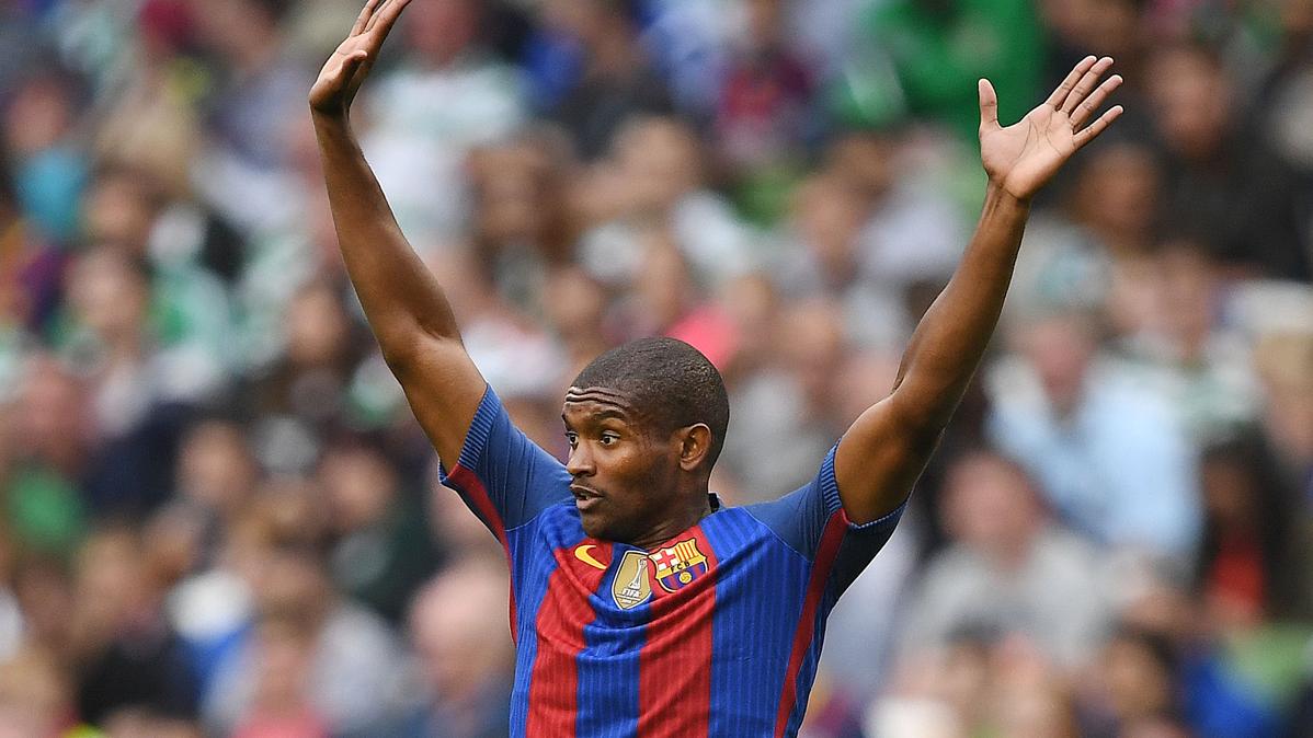 Marlon, de joya a urgencia para Luis Enrique en el Barça
