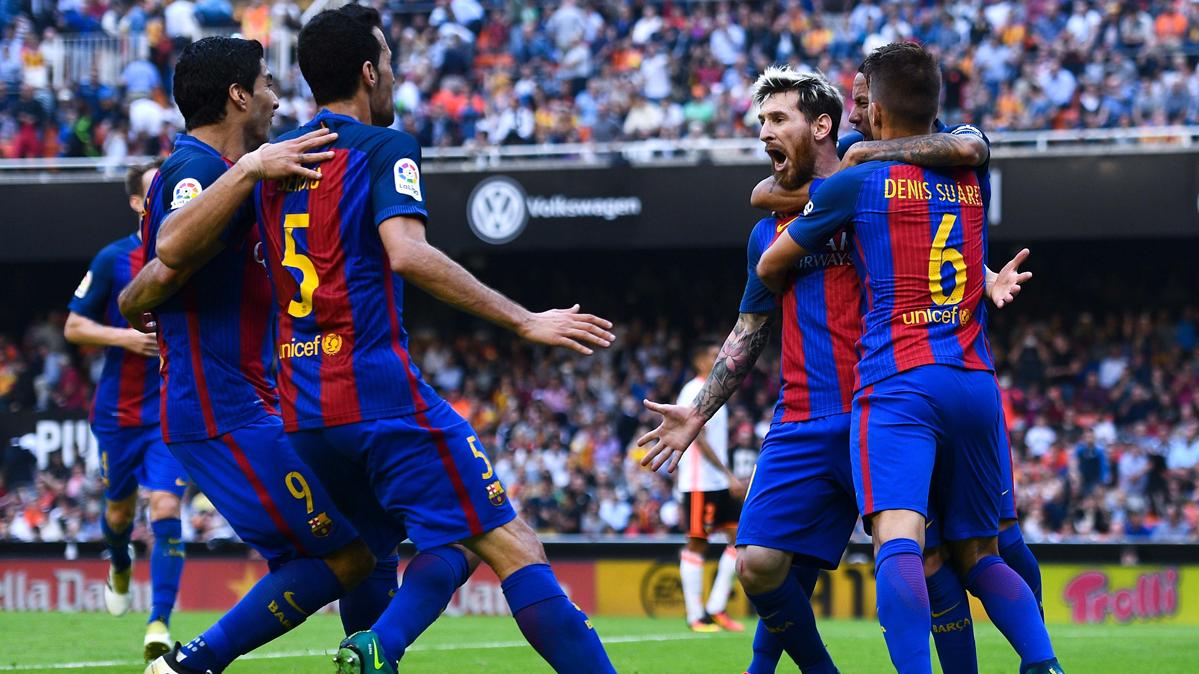 �Competici�n ataca a los jugadores del FC Barcelona!