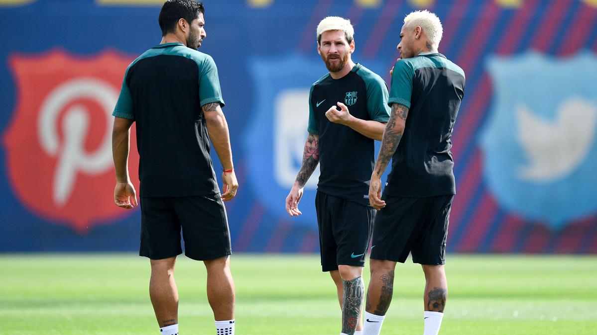 Messi, Neymar y Su�rez, dos a�os maravillando en el Bar�a