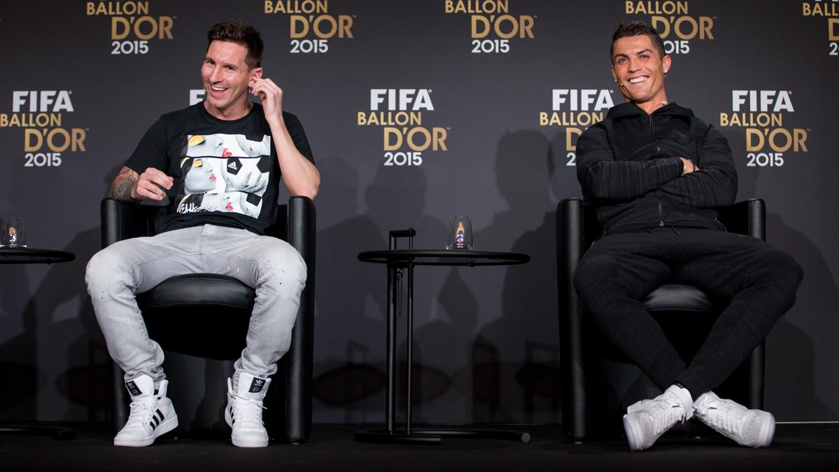Cristiano Ronaldo explica c�mo es su rivalidad con Messi