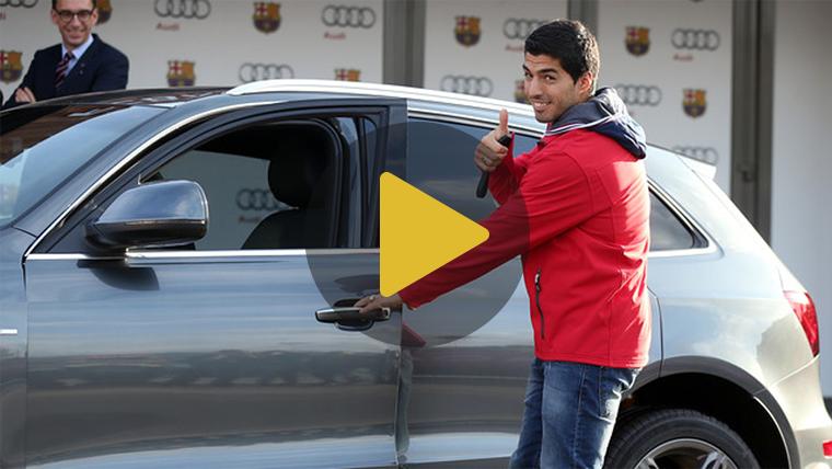 """El 1x1 de los """"Audi"""" que han recibido los jugadores del Bar�a"""