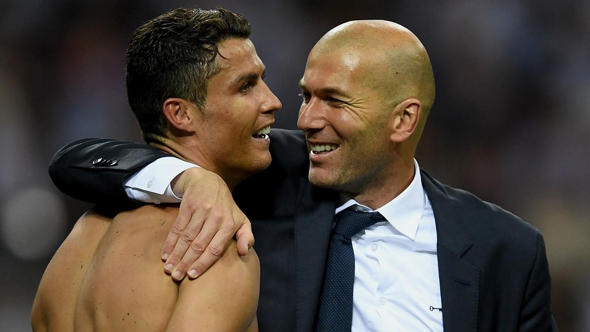 Cómica afirmación de Zidane sobre Cristiano y el Balón de Oro