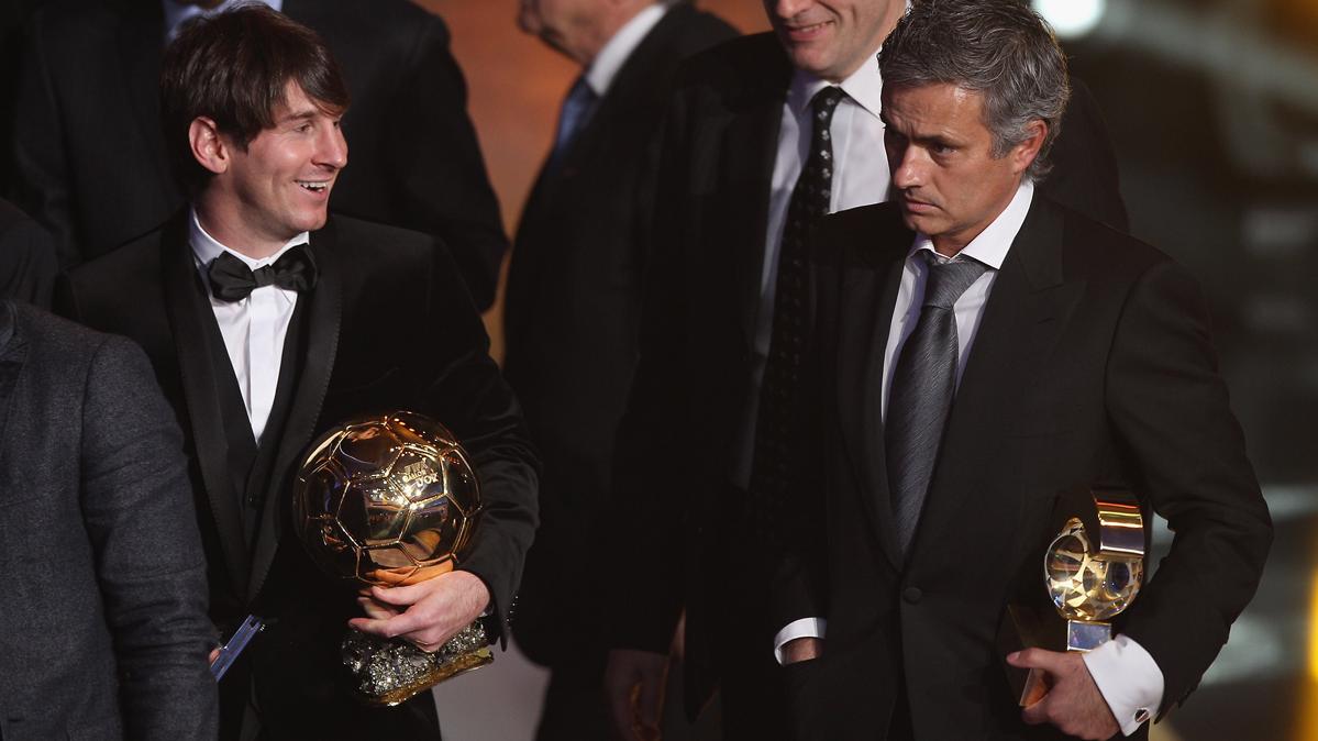 Todas las frases célebres de Mourinho elogiando a Messi