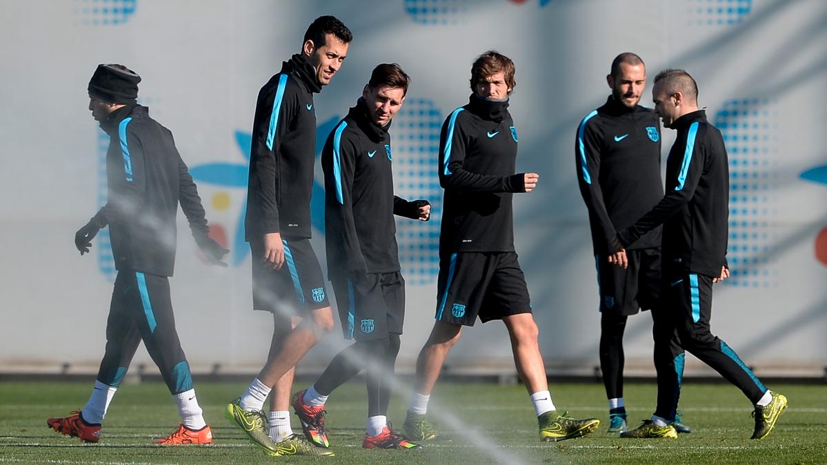 Busquets y Sergi Roberto, a punto de fichar por el Madrid