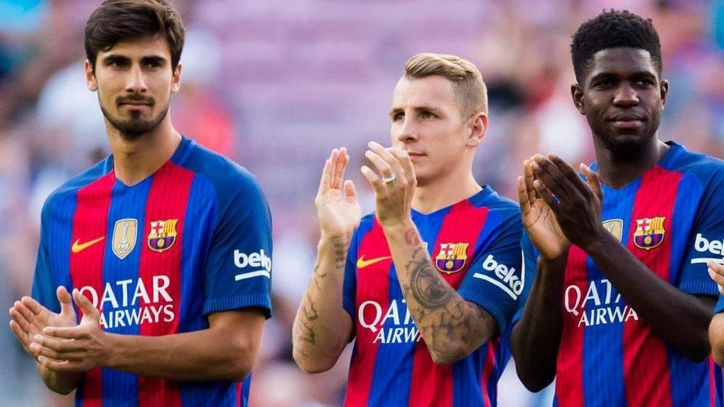 Desvelan los sueldos de Lucas Digne y Umtiti en el Barça