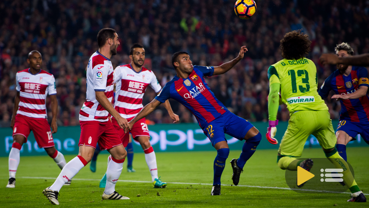 Vídeo resumen: FC Barcelona 1 Granada CF 0 (Liga J10)