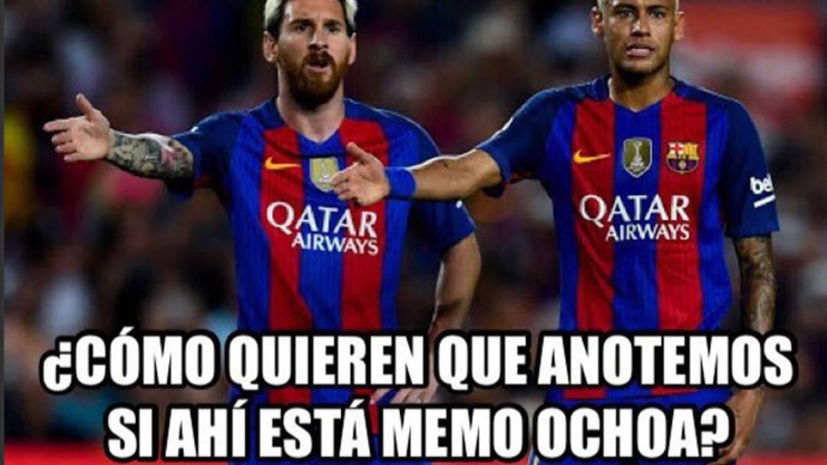 """Estos son los mejores """"memes"""" del Barça-Granada"""