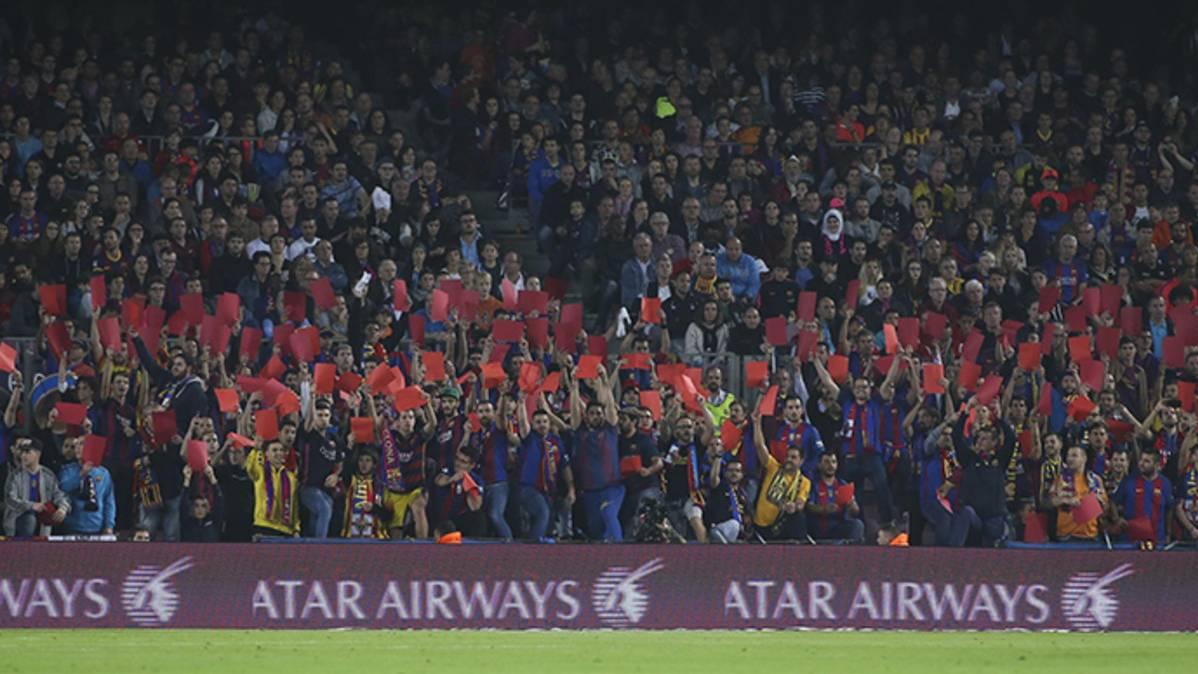 ¡Lamentable! Esconden la pañolada del Camp Nou contra Tebas