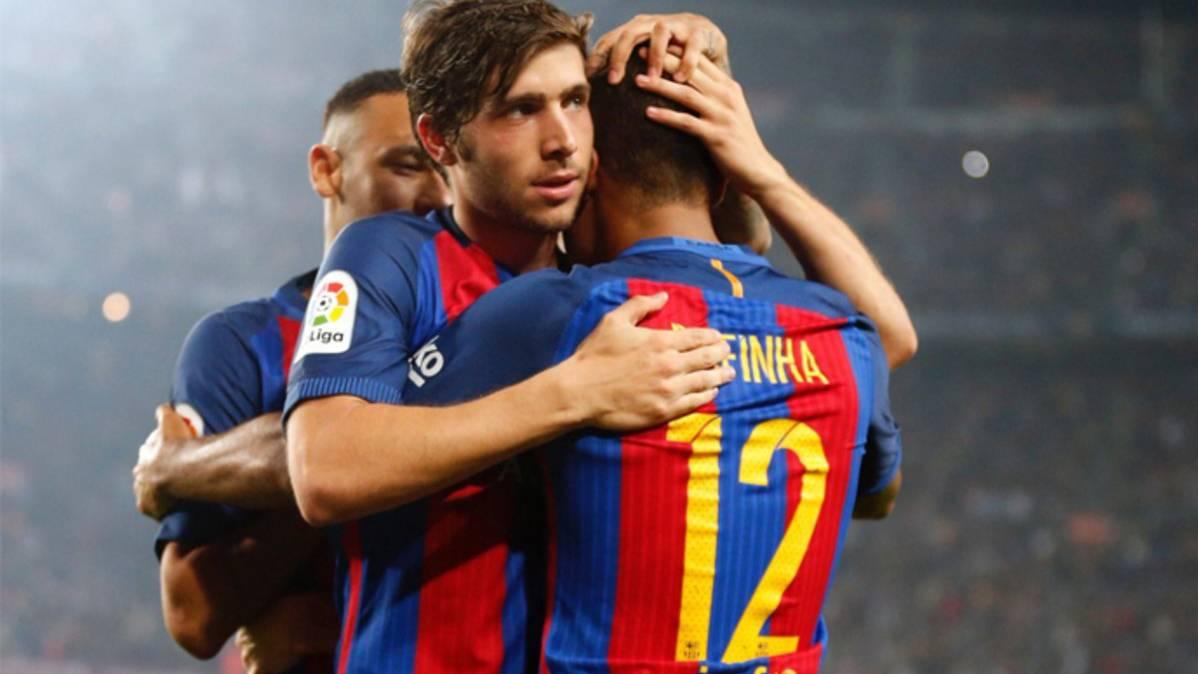 """Los cracks del Barça activan el """"modo Champions"""" tras vencer"""