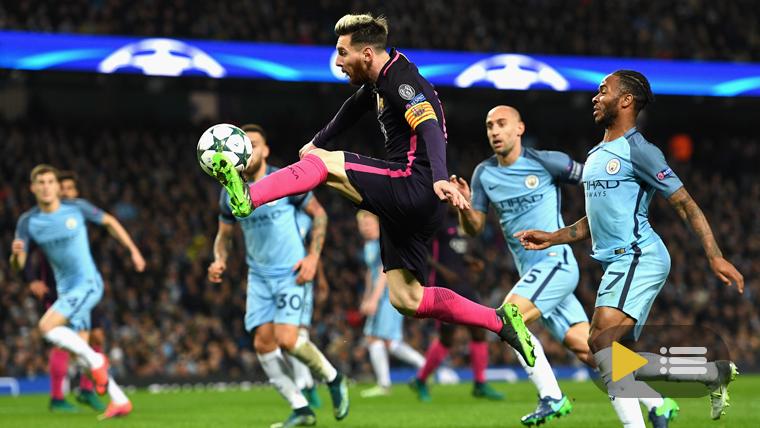 Vídeo resumen: Manchester City 3 FC Barcelona 1 (Champions J4)