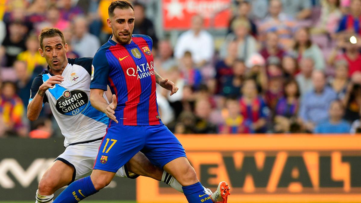 La recomendación de Pedro a Alcácer en el FC Barcelona