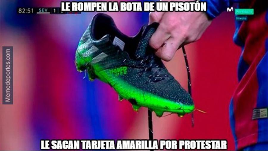 """Estos son los mejores """"memes"""" del Sevilla-Barcelona"""