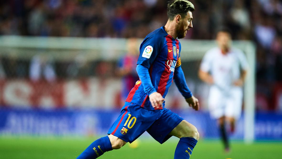 Humilde mensaje de Messi tras enamorar ante el Sevilla