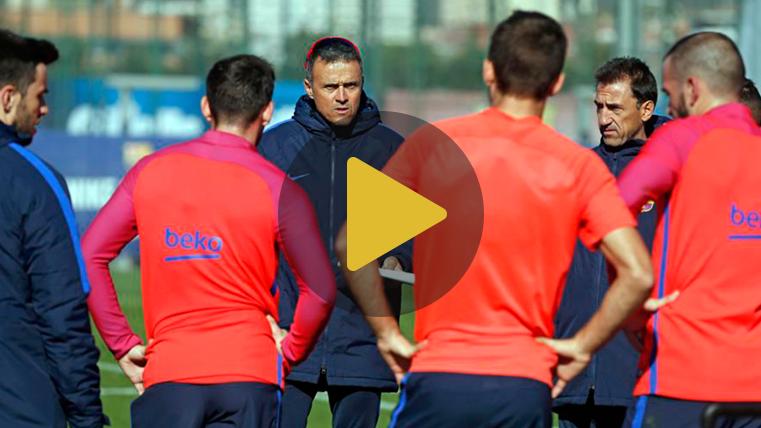 Piqué y Jordi Alba volvieron al entrenamiento del Barça