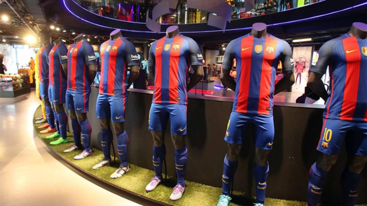 Revelan cómo será la camiseta del FC Barcelona 2017-2018