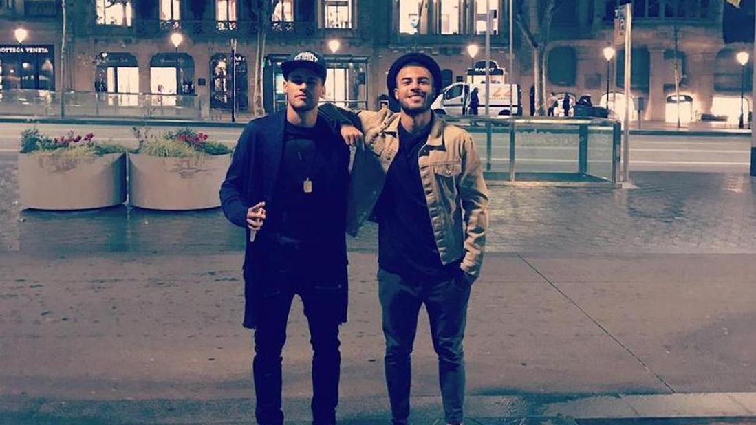 Neymar y Rafinha ya se conjuran para el Barça-Málaga