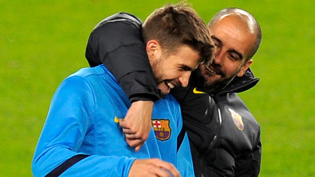 ¡Guardiola votará a Piqué para presidente del Barça!