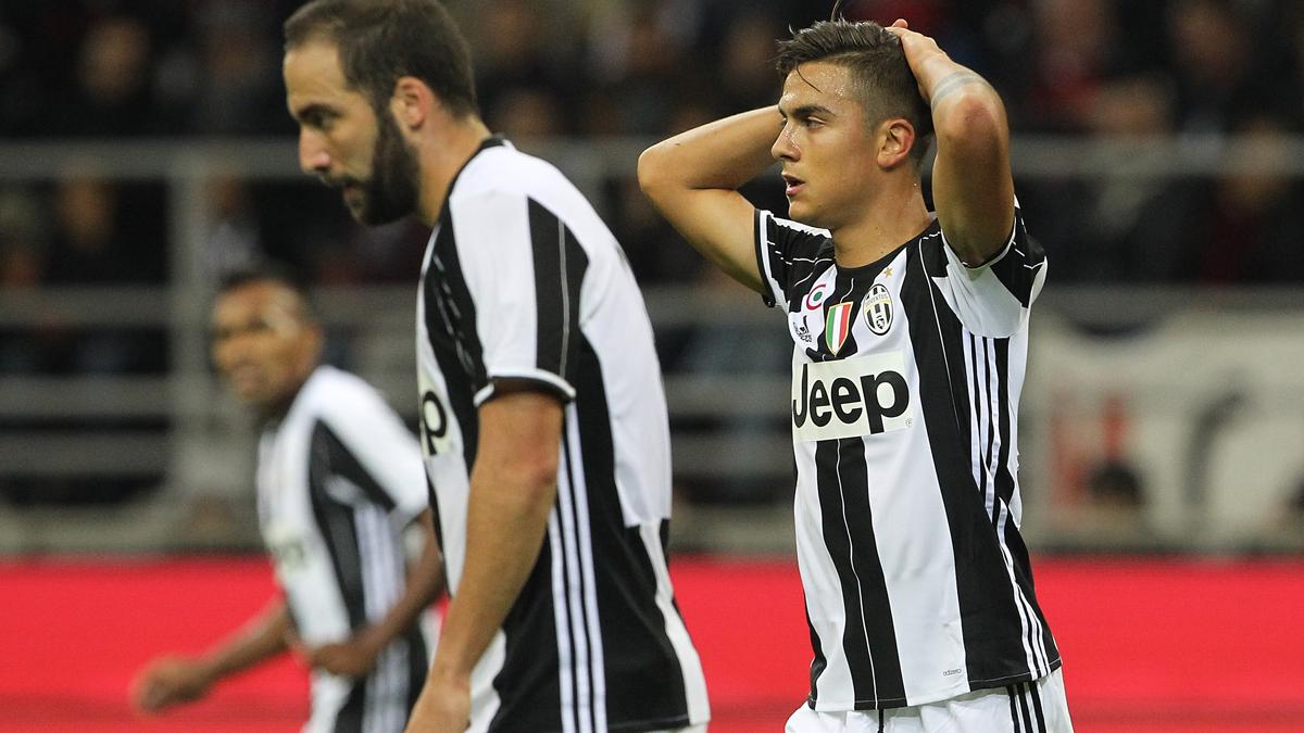 Dolorosas calabazas de Paulo Dybala al Real Madrid