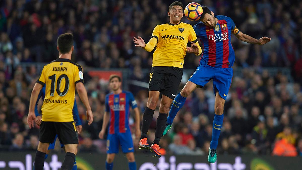 La maldición del Barça con el Málaga en la era Luis Enrique