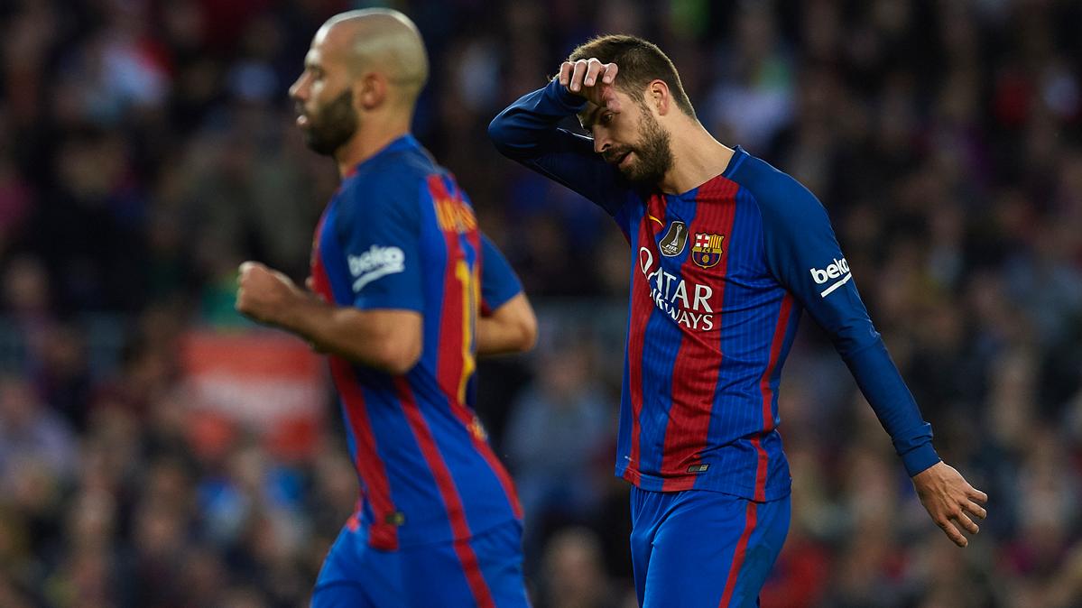 Con Piqué, el espíritu de Puyol sigue vivo en el Barça