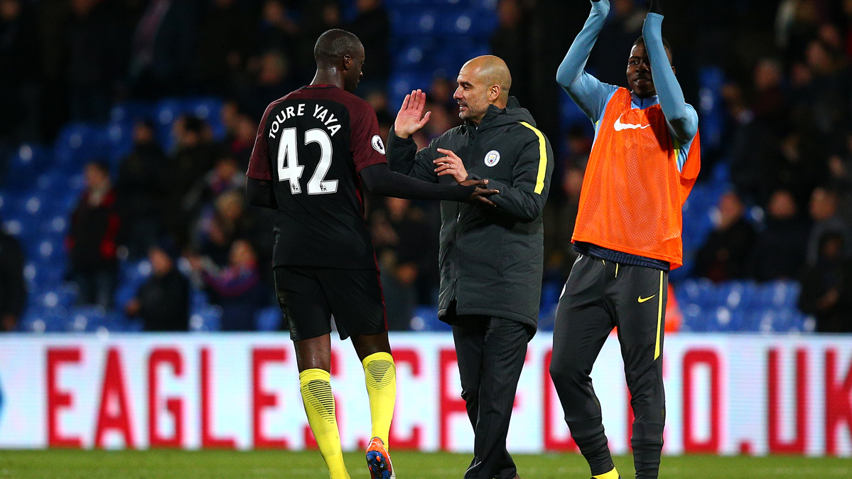 """Guardiola admite que cometió un """"error"""" con Touré Yaya"""