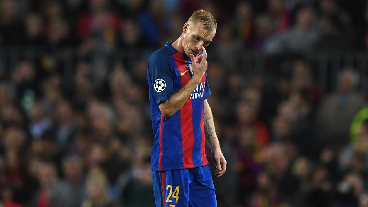 ¿Por qué Mathieu no entró en la convocatoria del Barça?