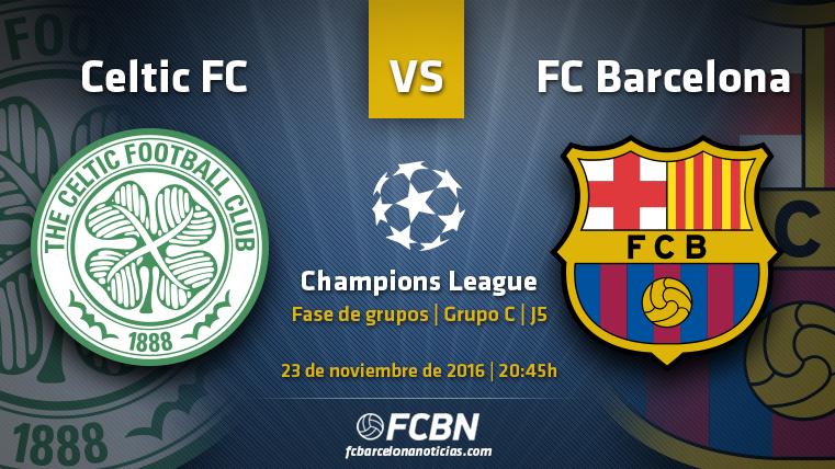Celtic-FC Barcelona: Recuperar la magia para pasar a octavos