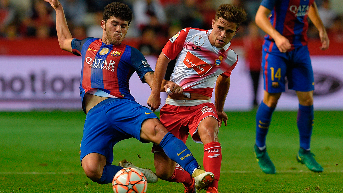 El FC Barcelona acelera la renovación de Carles Aleñá