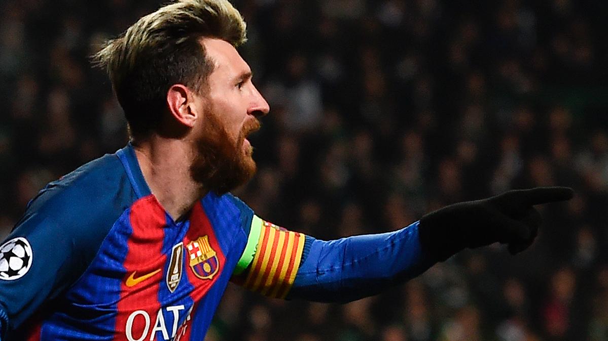 """Los goles en Europa llevan el nombre del """"Pichichi"""" Leo Messi"""