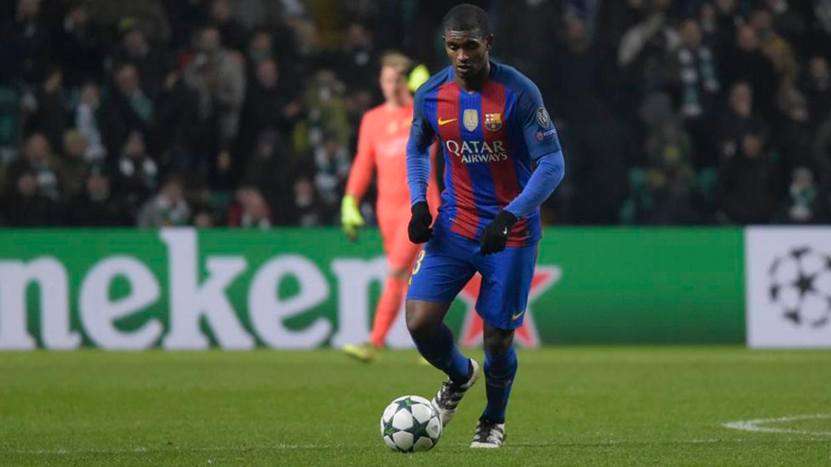 Radiante felicidad de Marlon tras debutar oficialmente con el Barça