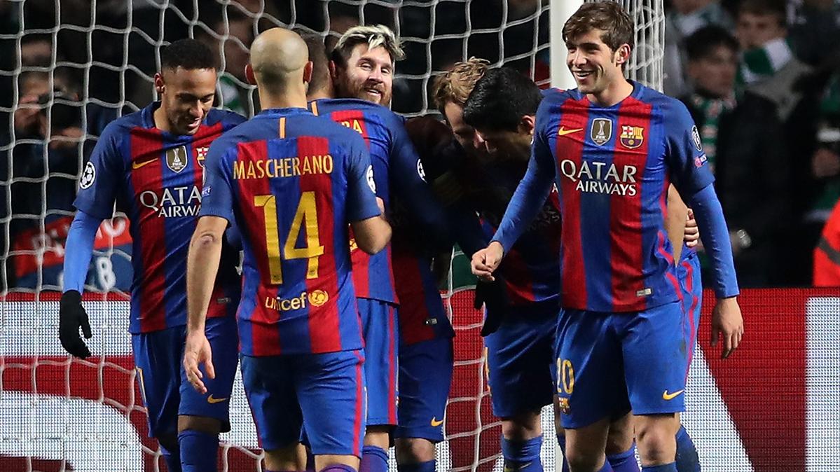 """Mascherano: """"Messi y Neymar, lo mejor que puedes encontrar"""""""