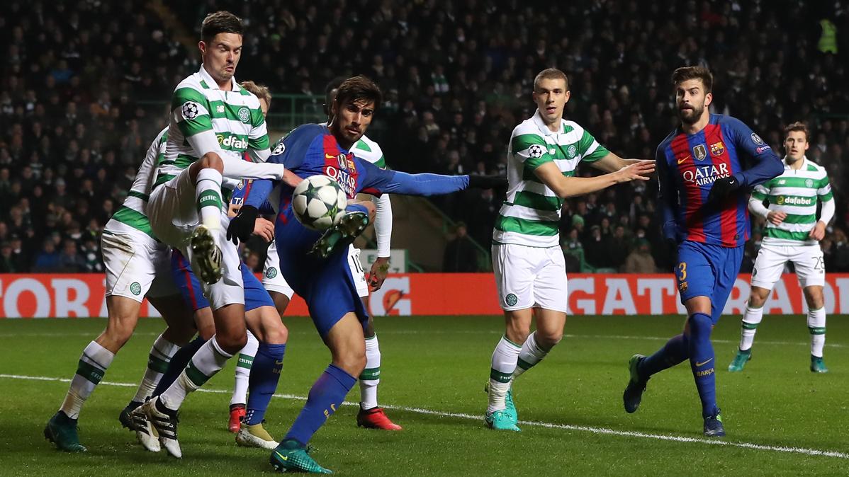 André Gomes da pie al optimismo con sus minutos en Glasgow