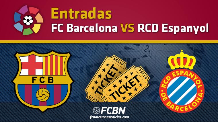 Entradas FC Barcelona vs Espanyol