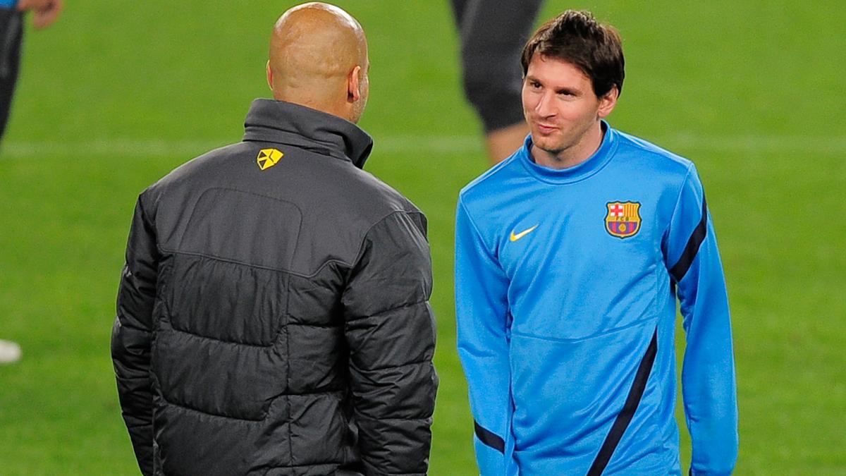 """Guardiola, contundente: """"Messi se quedará en el Barça"""""""