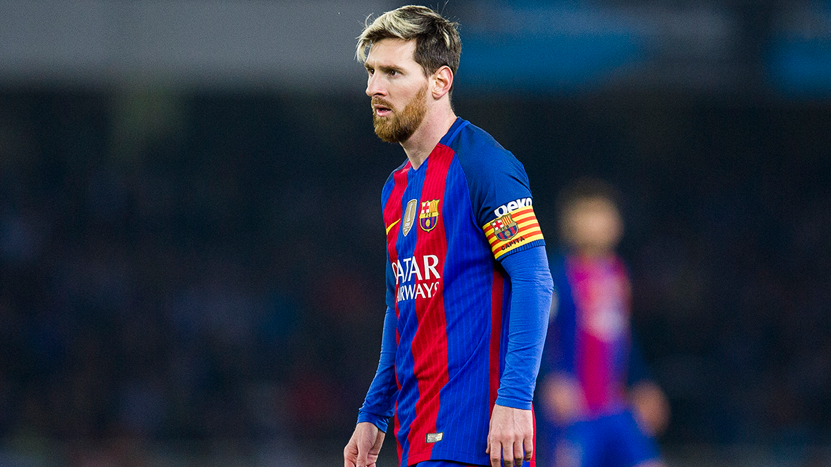 Menos mal que siempre está Messi, que superó otro récord