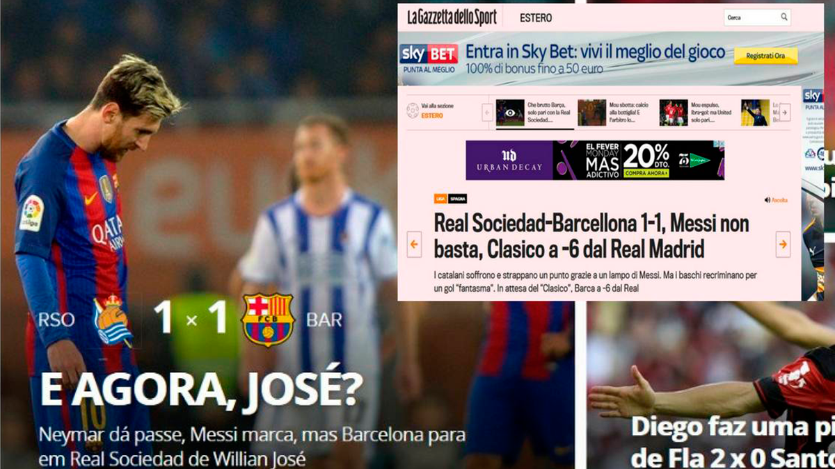 """En Barcelona lo tienen claro: El empate del Barça, """"un milagro"""""""