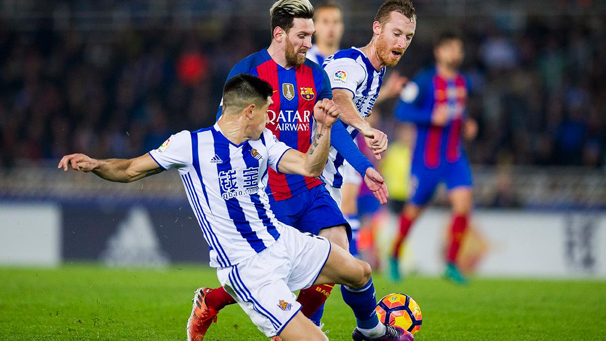 Zurutuza se tomó con humor el gol anulado a la Real Sociedad
