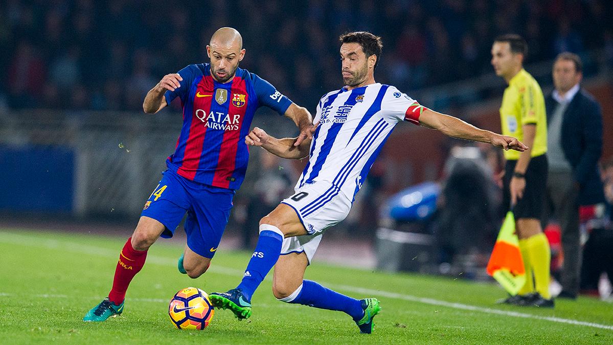 Mascherano llama a rebelarse con el Barça en el Clásico