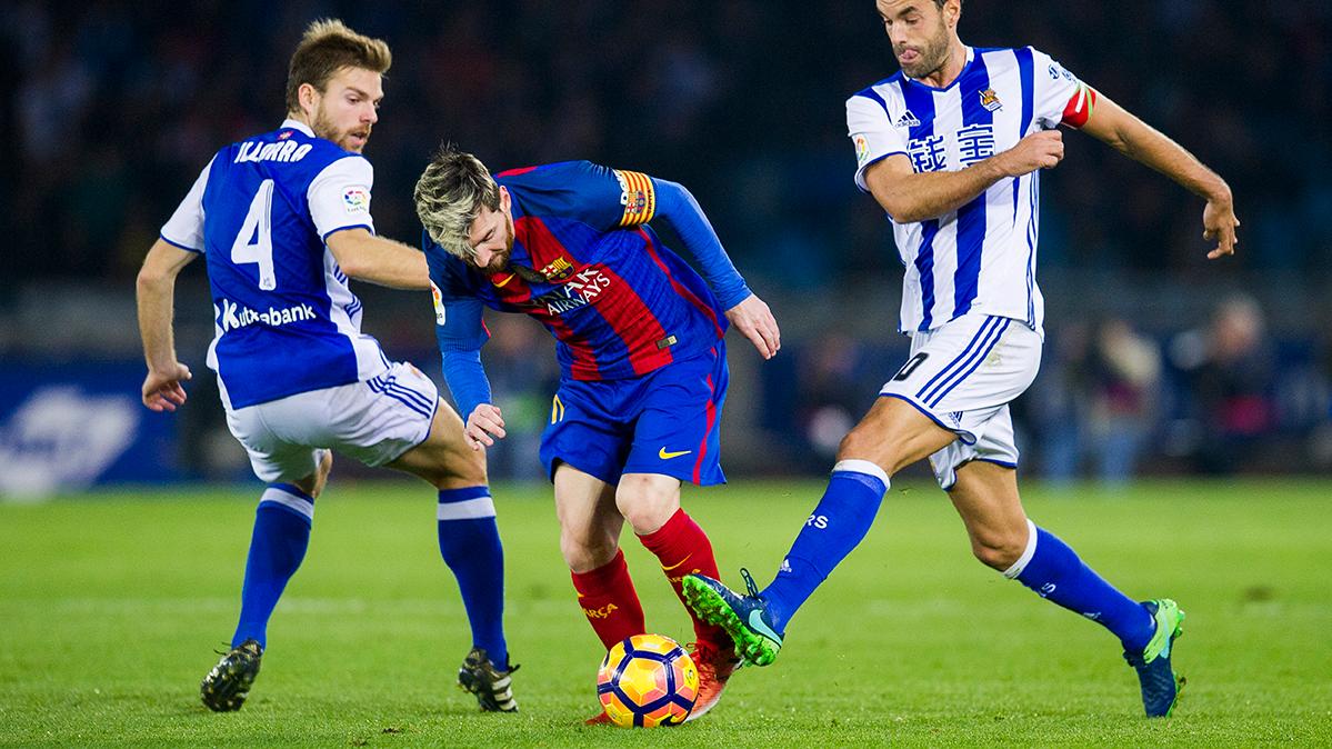 Leo Messi y Gerard Piqué tampoco se entrenaron