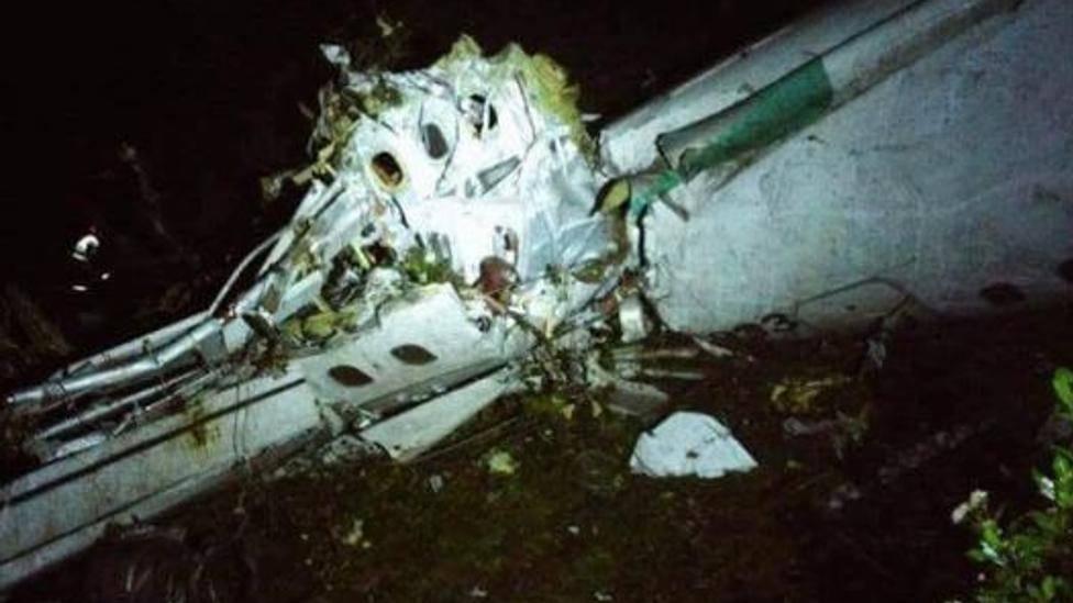 ¡Se estrella el avión que transportaba al Chapecoense!