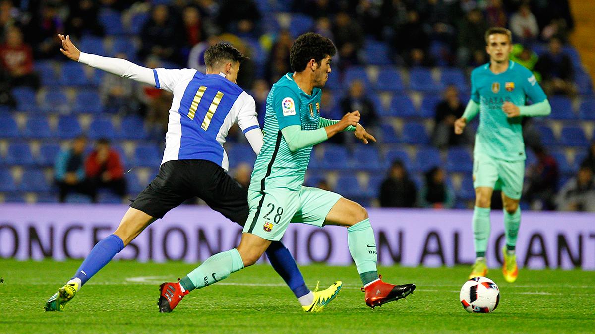 Carles Aleñá, debut y golazo para empatar el partido