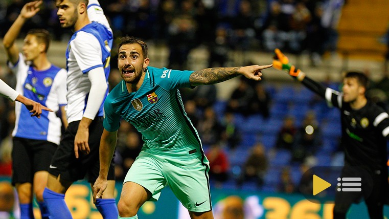 Vídeo resumen: Hércules 1 FC Barcelona 1 (Ida 1/16 Copa)
