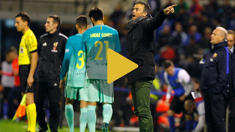 Tirón de orejas de Luis Enrique al Barça en rueda de prensa