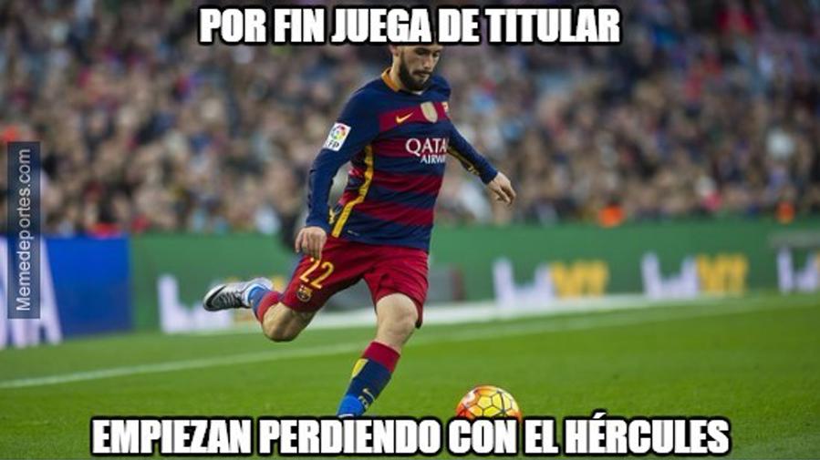 """Estos son los mejores """"memes"""" del Hércules-Barcelona"""