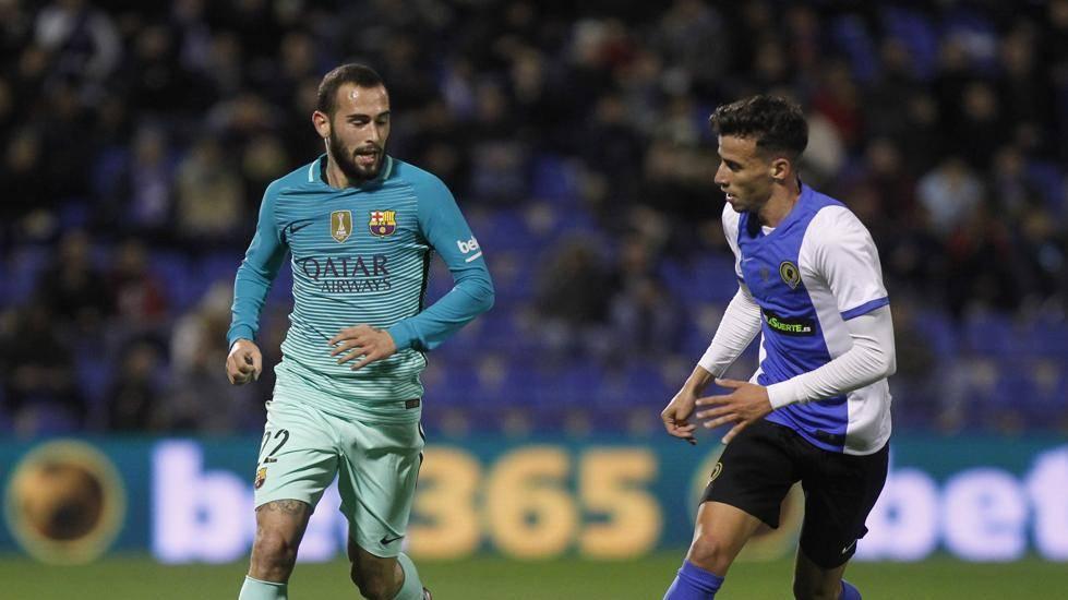 Aleix Vidal no convenció y apunta a dejar el Barça en enero