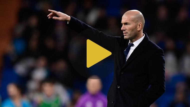"""Zidane: """"El FC Barcelona nos va a hacer sufrir"""""""
