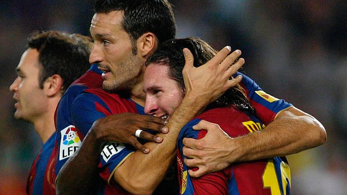 Zambrotta recuerda la actuación estelar de Messi en el Clásico de 2007