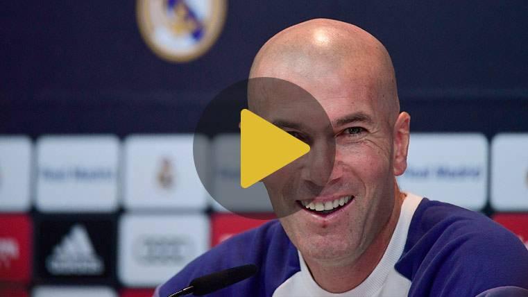 """Zidane: """"Jugamos contra el campeón y siempre son buenos"""""""