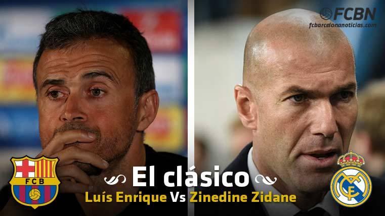 LOS DUELOS: Luis Enrique vs Zidane, dos estilos encontrados